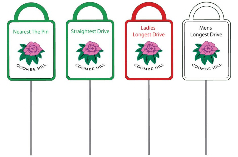 Quality golf proximity markers by GMS (Golf Marker Systems)