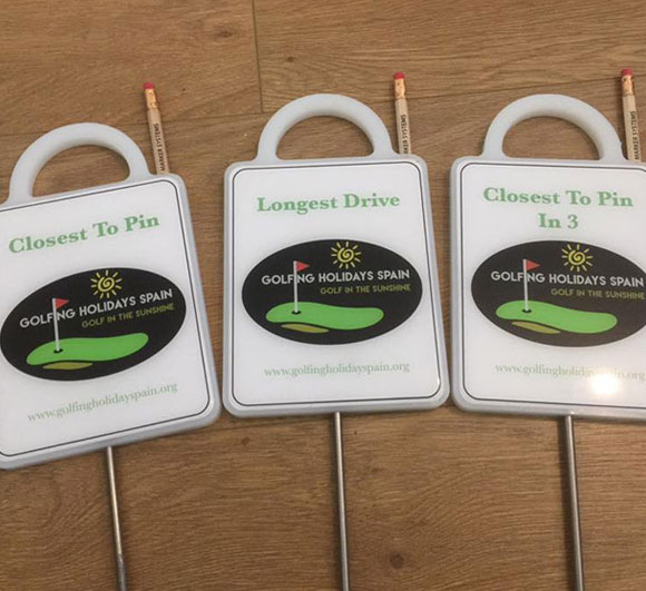 Medium Golf Travel Markers supplied by Golf Marker Systems