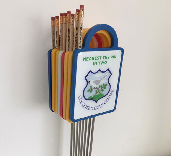 Small Golf Travel Markers supplied by Golf Marker Systems