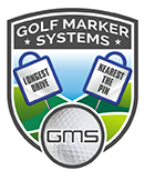GMS Golf Marker Systems.