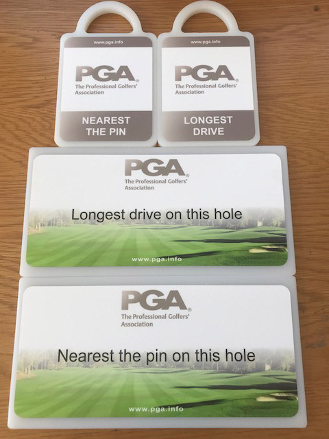 PGA Professional Golfers Association Signs and Golf Markers by GMS