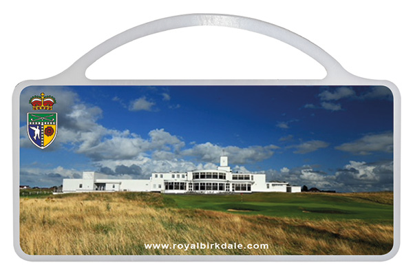 Tee box marker by GMS for Royal Birkdale Golf Course