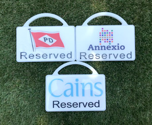 Custom Markers For Golf Course Car Parks