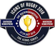 Icons of Rugby 2018 Official logo