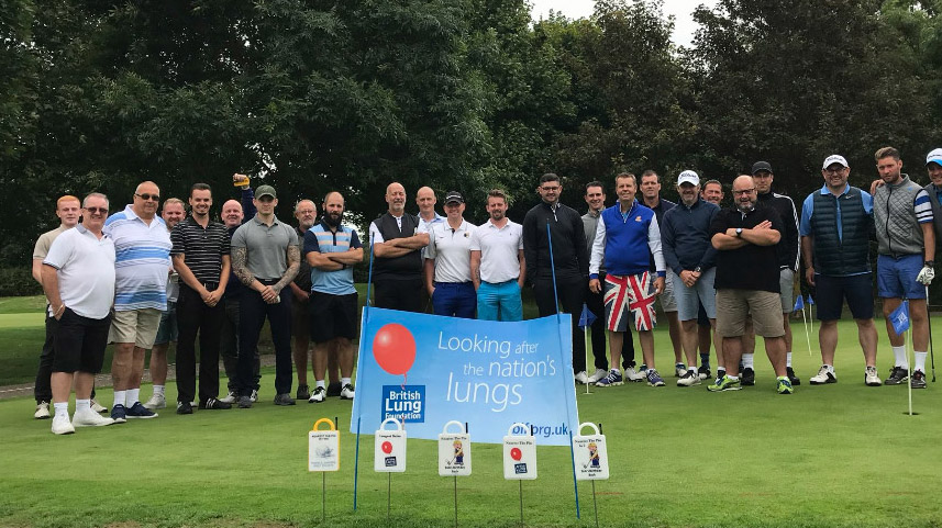 BLF charity golf event with