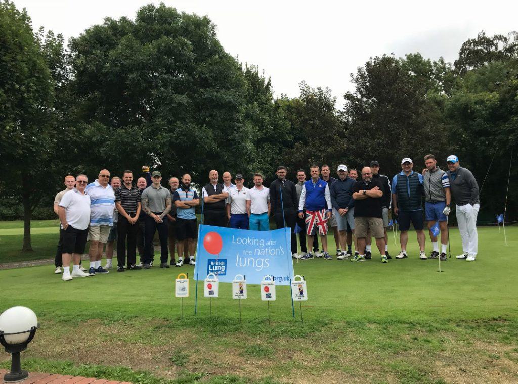 GMS play charity Golf Tournament at the Manor of Groves Golf Club
