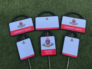 Portmarnock Golf Club Markers front and back by GMS