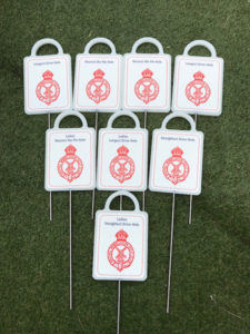 Royal Wimbledon Golf Markers by Golf Marker Systems