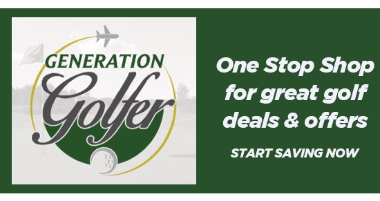 Generation Golfer logo a unique website which offers golfers around the world to join free of charge to socialise, find local golf offers, latest deals, and learn more about the sport.