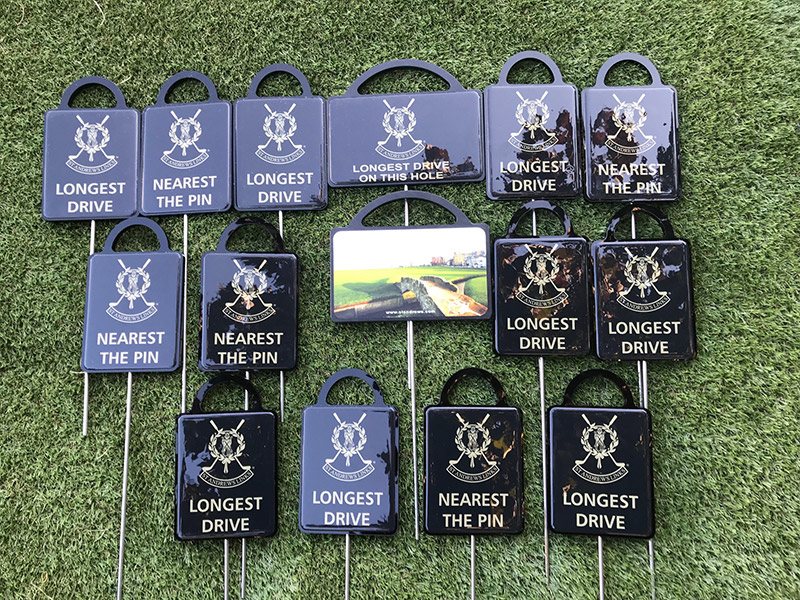 Royal St Andrews Golf Course Golf proximity markers